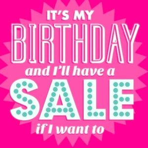 🥳 Birthday Sale 🎂 Today Only 🎁